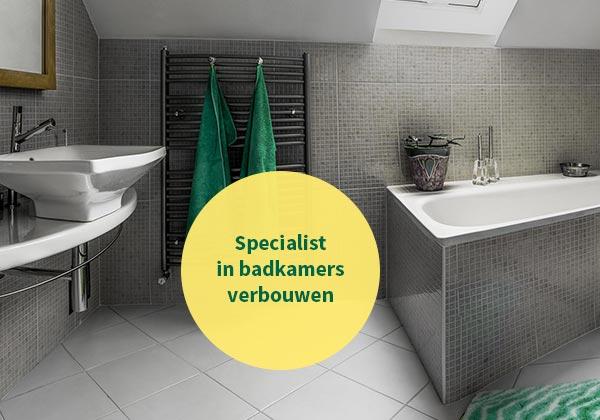 Offerte Badkamer Verbouwen : Badkamer verbouwen door de installateur uit dordrecht