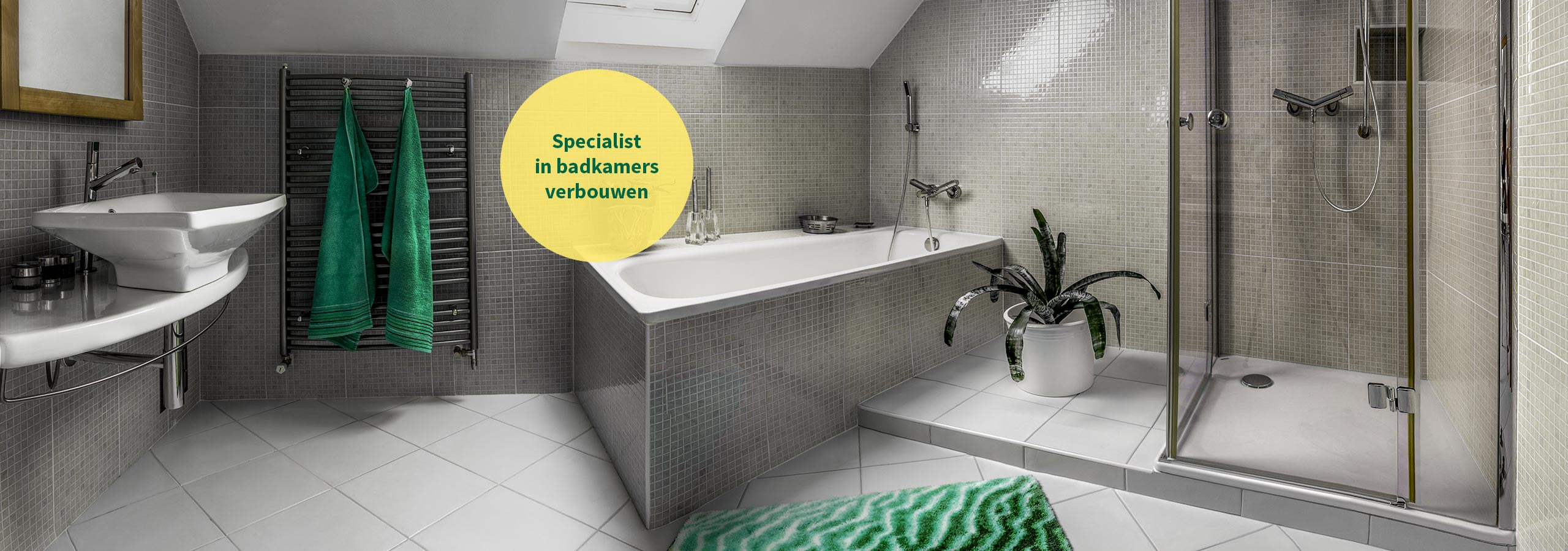 Badkamer verbouwen door de installateur uit Dordrecht